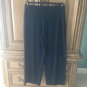 J Jill navy Wearever pants L